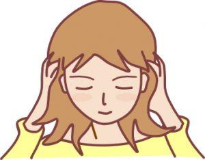 頭痛のマッサージ
