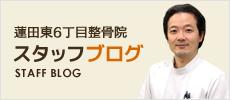 蓮田東6丁目整骨院 スタッフブログ