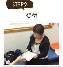 ステップ2.受付
